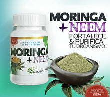 Upload image in the gallery viewer, moringa supplement with neem tree