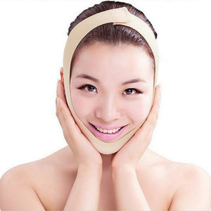 facial compression girdle for double chin