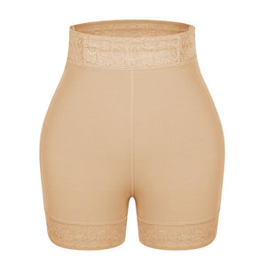 Short girdle lifts buttocks type compression pants