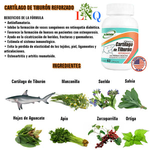 supplement for shark cartilage osteoarthritis
