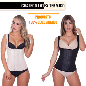 Colombian latex women's thermal vest