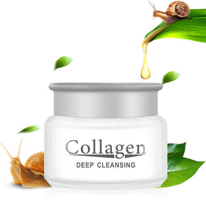 snail slime cream with collagen