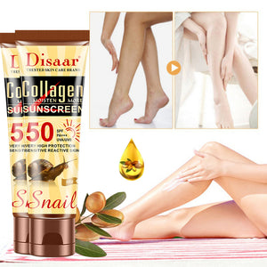 disaar facial and body whitening sunscreen with collagen