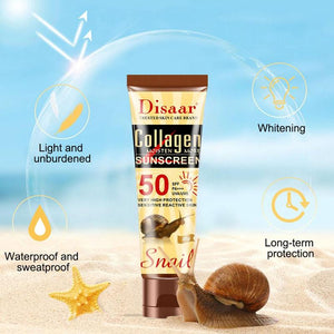 Snail Collagen Vibrating Sunscreen SPF50