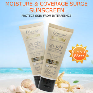 Sunscreen for plant extracts SPF 50 Sunscreen Tanning