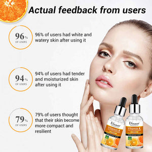 freckle whitening with vitamin c