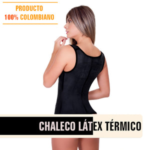 Colombian latex thermal compression vest