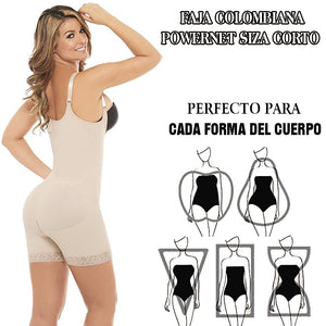 Colombian shaping and reducing girdles