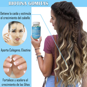 Gummies For Hair, Skin And Nails With Biotin