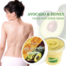 Upload image to gallery viewer, disaar avocado oil body scrub