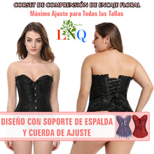 Load image in the gallery viewer, Shaping corset girdle lifts Bust