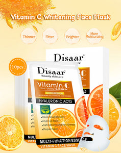 vitamin c skin whitening mask