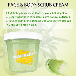 face & body scrub cream