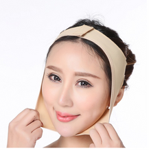 Load image in gallery viewer, elastic facial compression girdle