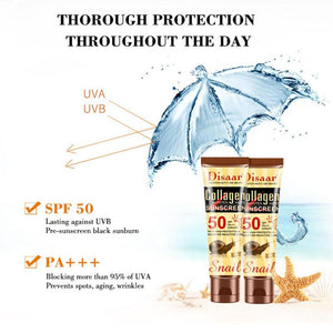 disaar cream with collagen and sunscreen 50