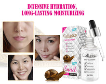 Upload image to gallery viewer, snail slime anti-aging serum with collagen