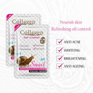collagen hydrating snail mask