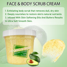 Load image in gallery viewer, Avocado & Honey Face and Body scrub