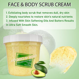 Avocado & Honey Face and Body scrub