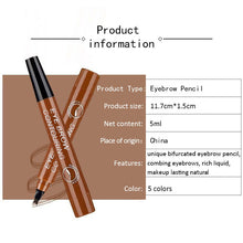 Upload Image to Gallery Viewer, Waterproof Liquid Eyebrow Pencil for Girls
