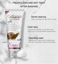 Upload image to gallery viewer, snail slime cleansing foam