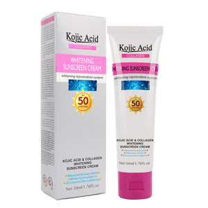 Sunscreen for the face kojic acid