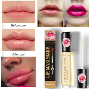 Kiss Beauty Lip Plumper Gloss Oil Moisturizing