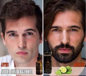 Bergamot ouro alpha beard treatment