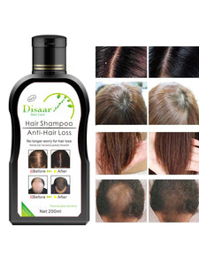 natural anti-hair loss and shampoo for hair growth