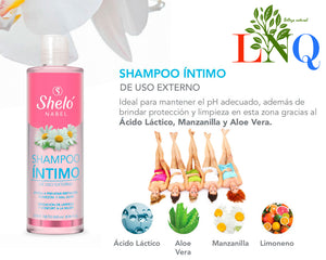 shampoo for intimate areas by shelo nabel