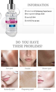 Serum for acne blemishes