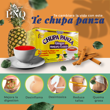 Load image in gallery viewer, Chupa Panza Detox Diet Tea Ginger