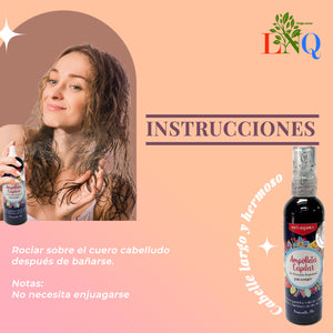 Rapunzel hair ampoule to accelerate hair growth