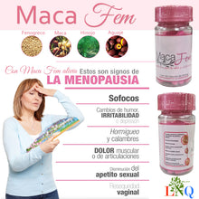 Load image in gallery viewer, natural supplement for women maca fem
