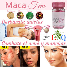 Upload image to gallery viewer, maca fem acne and blemish removal supplement