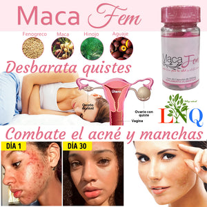 maca fem acne and spot removal supplement