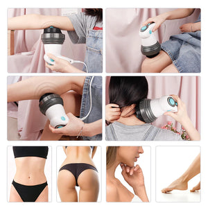 Anti cellulite back massager