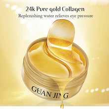 Upload image to gallery viewer, 24k gold anti dark circles patches