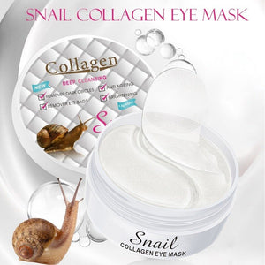 collagen and snail drool eye patches