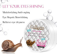 Upload image to gallery viewer, snail slime mask for dark circles