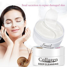 Upload image to gallery viewer, snail slime hydrogel patches with collagen