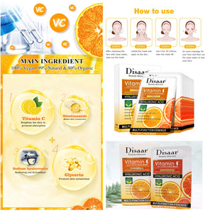 anti-aging vitamin c facial mask