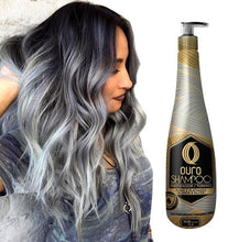 Load image in the gallery viewer, ouro platinum blonde toning shampoo