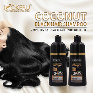 Mokeru Shampoo Black color