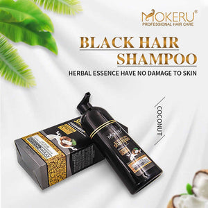 black hair shampoo coconut mokeru