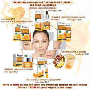 facial treatment to remove vitamin c stains