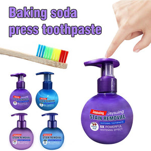 Baking soda intensive whitening toothpaste