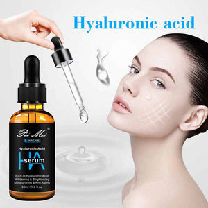 Facial serum with hyaluronic acid