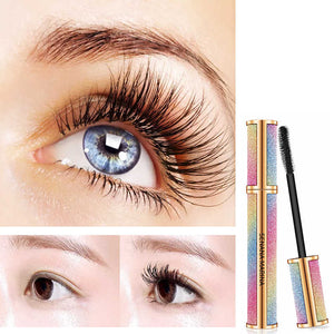 4D Silk fiber mascara for eyelashes