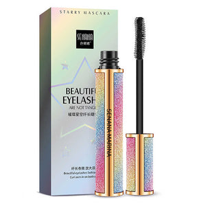 Mascara and Fibers Long and Bushy Eyelashes DDK 4D Lashes